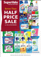 Household Cleaning Products Half Price