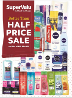 Half Price Beauty and Personal Care Products for Men and Women at Supervalu Churchtown