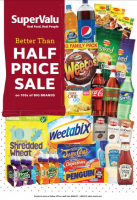Better than Half Price on Big Brands at SuperValu Churchtown