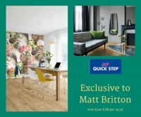 Quick Step Flooring at Matt Britton Carpets