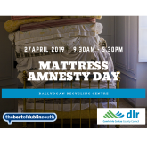 FREE Mattress Recycling Day