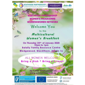 Multicultural Women's Breakfast in Balally Family resource Centre