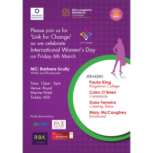 International Women's Day lunch -DLR Chamber of Commerce