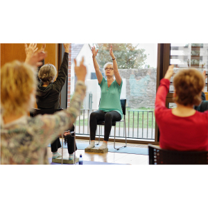 Mindful Chair Yoga with Sally Dunne via Zoom