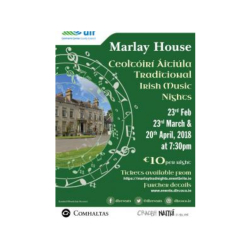 Marlay House Traditional Irish Music Nights