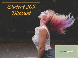 20 % Student Discount