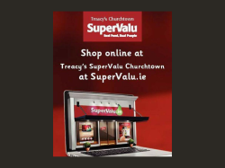 FREE Home Delivery at Supervalu Churchtown