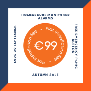 Monitored Alarm Installation only €99