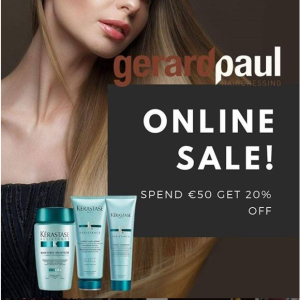 Gerard Paul Online Store Special Offer