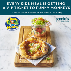 Kids Meal Promotion at Jamies Italian